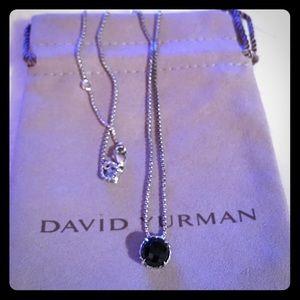 David Yurman Châtelaine Onyx Pendant choice 18,20